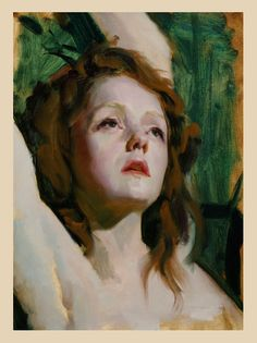 "Louis Smiths portrait of ""Holly"""