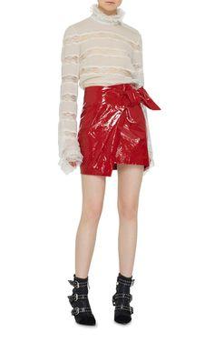 Anders Mini Asymmetric Skirt by Isabel Marant