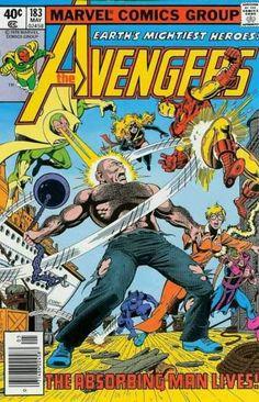 Avengers Vol 1 183 Marvel 1979 Absorbing Man Vision