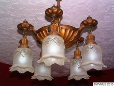 Light fixture in 1921 home. Art Nouveau, Vintage Light Fixtures, Antique Lighting, First Home, Light Decorations, Vintage Furniture, House Design, Ceiling Lights, Sculpture