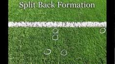 Youth Flag Football Play - Split Back Formation. Running plays out of this formation can be effective up to 9 years old. Flag Football Plays, Football Drills, Football Formations, Football Youtube, Team Mom, 9 Year Olds, Kids Sports, Coaching, Football Parties