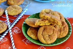 Pumpkin Pie Snickerdoodles are a fabulous Fall twist on a classic cookie the whole family will love! | MomOnTimeout.com #pumpkin #cookies