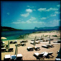 Sunny Ibiza.