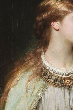 Ophelia by Thomas Francis Dicksee, c. 1864 (detail)