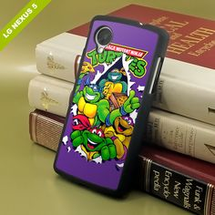 Vintage, Ninja Turtles, TMNT, Nexus 5 Case, Hard plastic, soft rubber