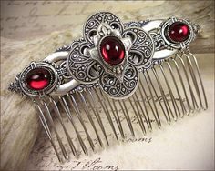 Hey, I found this really awesome Etsy listing at https://www.etsy.com/listing/190156199/medieval-renaissance-bridal-comb-tudor