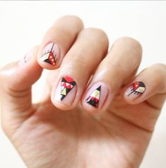 Triangle nail: The latest Korean nail trend to try - Be Asia: fashion, beauty…