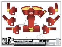 Paper Toys | Iron Man paper toy