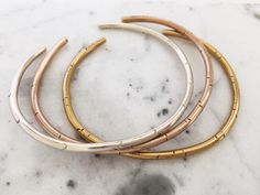 Wire Cuffs by Mimosa Handcrafted