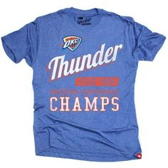 OKC Thunder 2012 NBA Western Conference Champs T-Shirt