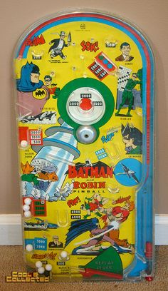marx 1966 batman pinball bagatelle