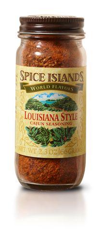 Cajun Seasoning, Louisiana Style - Seasoning Mixes