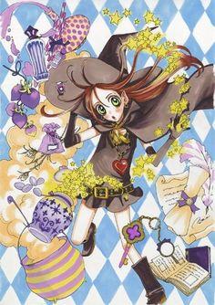 Sugar Sugar Rune - Chocolat Manga Girl, Anime Manga, Anime Art, Anime Version, Classic Comics, Manga Covers, Warrior Princess, Manga Illustration, Japanese Artists