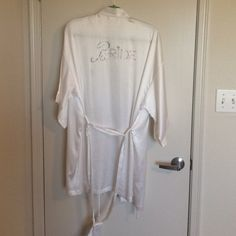 Victoria's Secret BRIDE robe! Anyone getting married?! Victoria's Secret Bridal robe. This is a re-posh. In great condition! Wore this once on my wedding day.  Must have for any bride! Victoria's Secret Tops