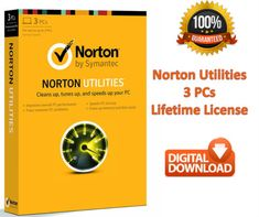 Get Norton Utilities product at very lowest price. With Norton, you can improve your all overall performance without finding any issues and malicious attack.