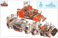 Offshore+Lifeboat+X-Section by Hans Jenssen