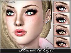 Heavenly Eyes by Pralinesims
