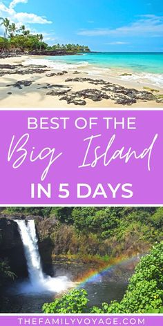 Check out the perfect 5 day Big Island itinerary to jump start your planning! Things to do on Big Island, where to stay on Big Island, restaurants & more! Hawaii Volcanoes National Park, Volcano National Park, Canada Travel, Travel Usa, Hawaii Travel Guide, Travel Tips, Hawaii Vacation, Hawaii Hikes, Hawaii Things To Do