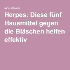 Herpes: Diese fünf Hausmittel gegen die Bläschen helfen effektiv