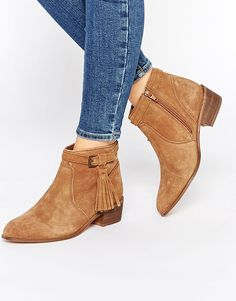 d05cf3fcb Sam Edelman Petty Suede Ankle Boot. See more. Image 1 of New Look Suede  Ankle Boots With Tassel Detail Suede Ankle Boots