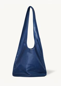 Small Bindle – La Garçonne The Row Bag, Wrap Cardigan, Semi Transparent, New Bag, Fit S, Hobo Bag, Style Me, Shoulder Bag, Navy