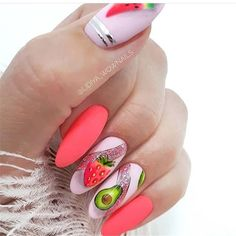 Manicure, not just cute~ - Page 74 of 128 - Inspiration Diary Cute Nail Designs, Stylish Nails, Cute Nails, Manicure, Finger, Nail Polish, How To Apply, Nail Art, Valentines