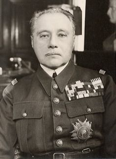 Maurice Gamelin - commaned the French military during the critical days of May 1940, before being removed from his position after failing to defend France from the Germans.