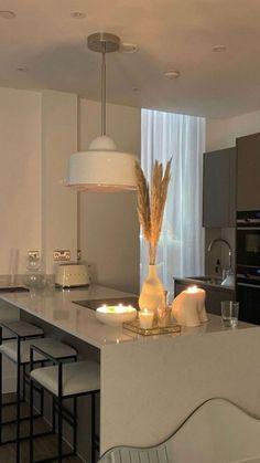 Beautiful Interior Design, Dream Home Design, House Design, Minimalist Interior, Minimalist Home, My House Plans, House Rooms, Kitchen Interior, Kitchen Decor