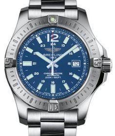 Breitling - Colt Automatic Mariner Blue bracelet-watch