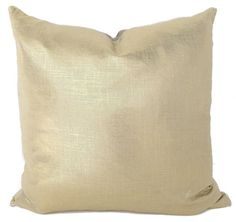 Everything looks better with a bit of sparkle. These gold pillows are no exception. We love their delicate sheen. The silver cording and soft linen back make them a comfy addition to any room. Glimmer pillows are akin to that favorite necklace that just finishes your outfit... life is unimaginable without them.