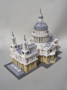 LEGO London's famous St Paul's Cathedral! by MECHALEX, via Flickr