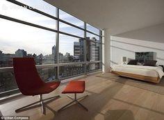 Spot the landmark: The floor-to-ceiling windows boast birds-eye views of many iconic build...