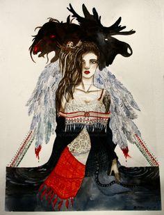 Daughter of the North by Kuutamouni.deviantart.com on @deviantART