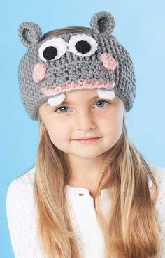 Little Animals Headgear - Inspired by animals from farm, forest, and zoo, the crochet baby beanies and toddler ear warmers in Little Animals Headgear from Leisure Arts make adorable gifts and photo outfits. Patterns by Ashley Leither are given for a beanie and an ear warmer for each of six animals: Fox, Cow, Hippo, Owl, Pig, and Turkey. Cute attached ears, eyes, noses, and other details bring the irresistible designs to life. The beanies are for sizes 0-3, 3-6, 6-9 and 12 months; the ear…