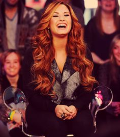 Demi . Gorgeous. And inspirational. Love her. <3