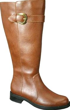 David Tate Shoes - Stallion is a knee high boot built with the best quality manmade materials to offer a wonderful look, comfortable feel, and, best of all, an easy to clean surface(just wipe clean with a damp cloth). An adjustable buckle sits atop a wide shaft that will accommodate an athletic calf with the shaft circumference starting at 18 inches (size 6) and expanding as sizes increase. - #davidtateshoes #luggageshoes