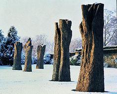 Magdalena Abakanowicz- Hand-like trees