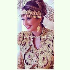 «Lah lah la femme Algerienne  #wedding_algelles #ksantina #annaba #algerie #hair #by @cestdelart»
