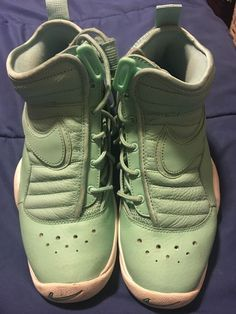 Girls Casual Shoes LIGHT TEAL MINT CANVAS w// BOW ACCENT Spring Summer SZ 2 3 5 6