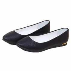 Fashion 2015 Women Shoes Slip On Womens Flats Shoes Faux Leather Womens Ballerina Flats Casual Comfort Ladies Shoes Wholesales