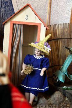 Elämää koossa 1:12 Cowboy Hats, Dolls, Fashion, Baby Dolls, Moda, Fashion Styles, Western Hats, Fasion, Doll