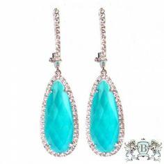 Doves St. Barth's Blue Earring E5515TQ