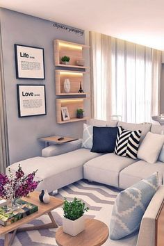 Below are the Summer Modern Minimalist Living Room Decor Ideas. This post about Summer Modern Minimalist Living Room Decor Ideas … Interior Design Living Room, Living Room Designs, Home Living Room, Living Room Decor, Modern Minimalist Living Room, Modern Living, Retro Home Decor, Design Case, House Design