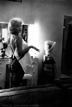 #Marilyn #Monroe par Eve Arnold - #Blog #photo - Zoom'Up
