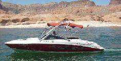 Riverton, UT 23' ski and wakeboard boat! Rental on Fun2Rent