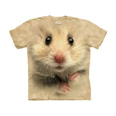 Hamster Face T-Shirt, 19€, now featured on Fab.