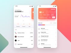 Apps Monzo mobile bank app concept dashboard finance fiat credit card card atm wallet app charts chart app fintech financial app mobile monzo you can . Ux Design, Ios App Design, Mobile App Design, Flat Design, Chico California, Credit Card App, Credit Cards, Beautiful Boys, Card Ui