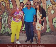 Meet Kingston Creative Founders - Kingston Creative was conceived by Andrea Dempster Chung, Allan Daisley and Jennifer Bailey in February 2017. The motivation was to grow Jamaica's creative economy by empowering creative people, transforming Downtown Kingston and creating a vibrant Art District. | Experience Jamaique