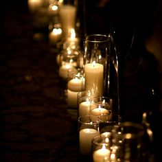 I must have a candle lit ceremony.