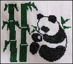 Cross-Stitch Panda